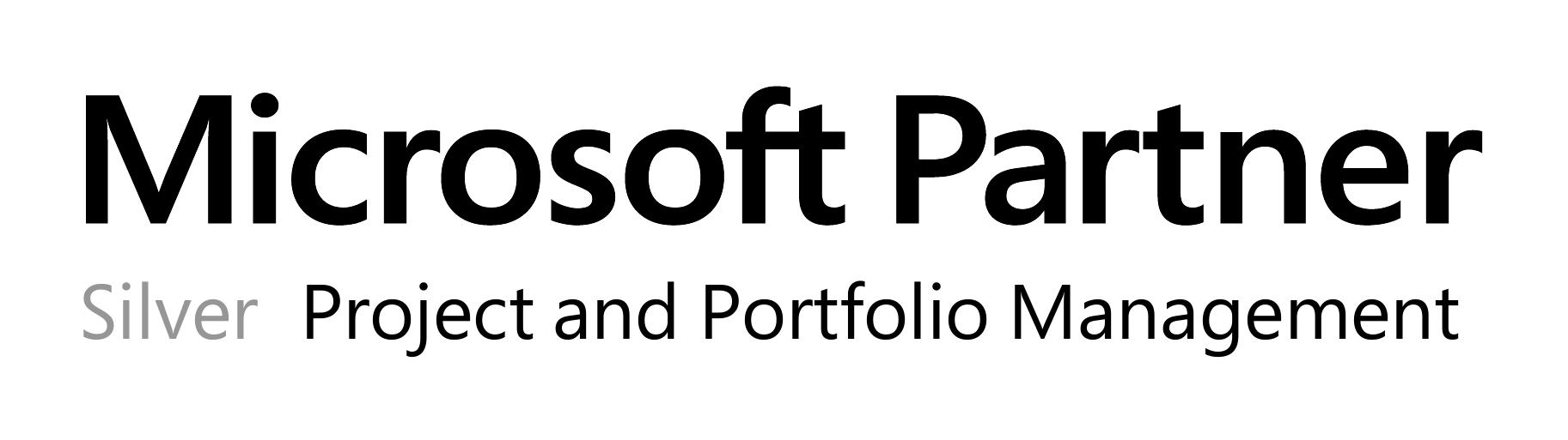 Microsoft Silver Competency partner in Project and Portfolio Management